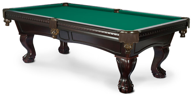 Pinnacle mahogany pool table classic and timeless - Most expensive pool table ...