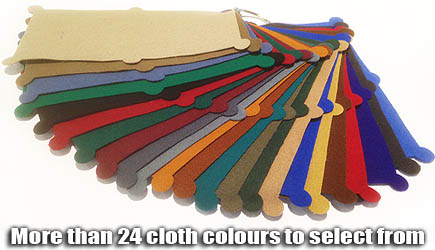 Billiard cloth colour selection for your pool table