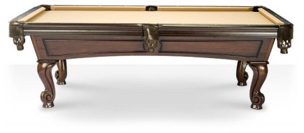 Amboise Walnut Pool Table