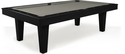 Charente Black Pool Table