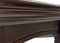 Close Up Details of Majestic Mahogany Pool Table