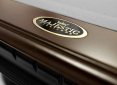 Close Up Details of Pinnacle Two Tone Pool Table