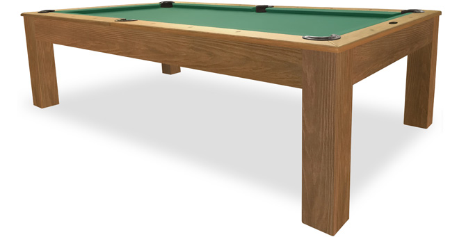 Mensa Rustic Walnut Pool Table